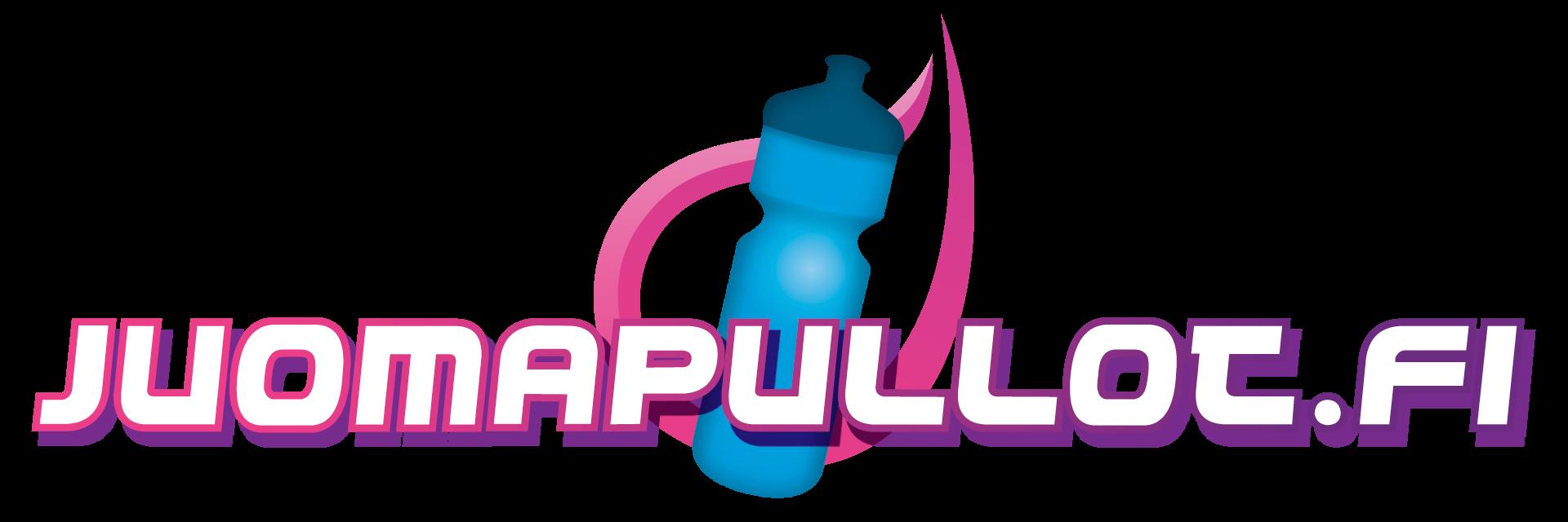 Juomapullot omalla logolla.